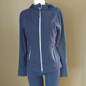 Zella Hooded Sweatsuit & Jogger 2 Piece Small NWT